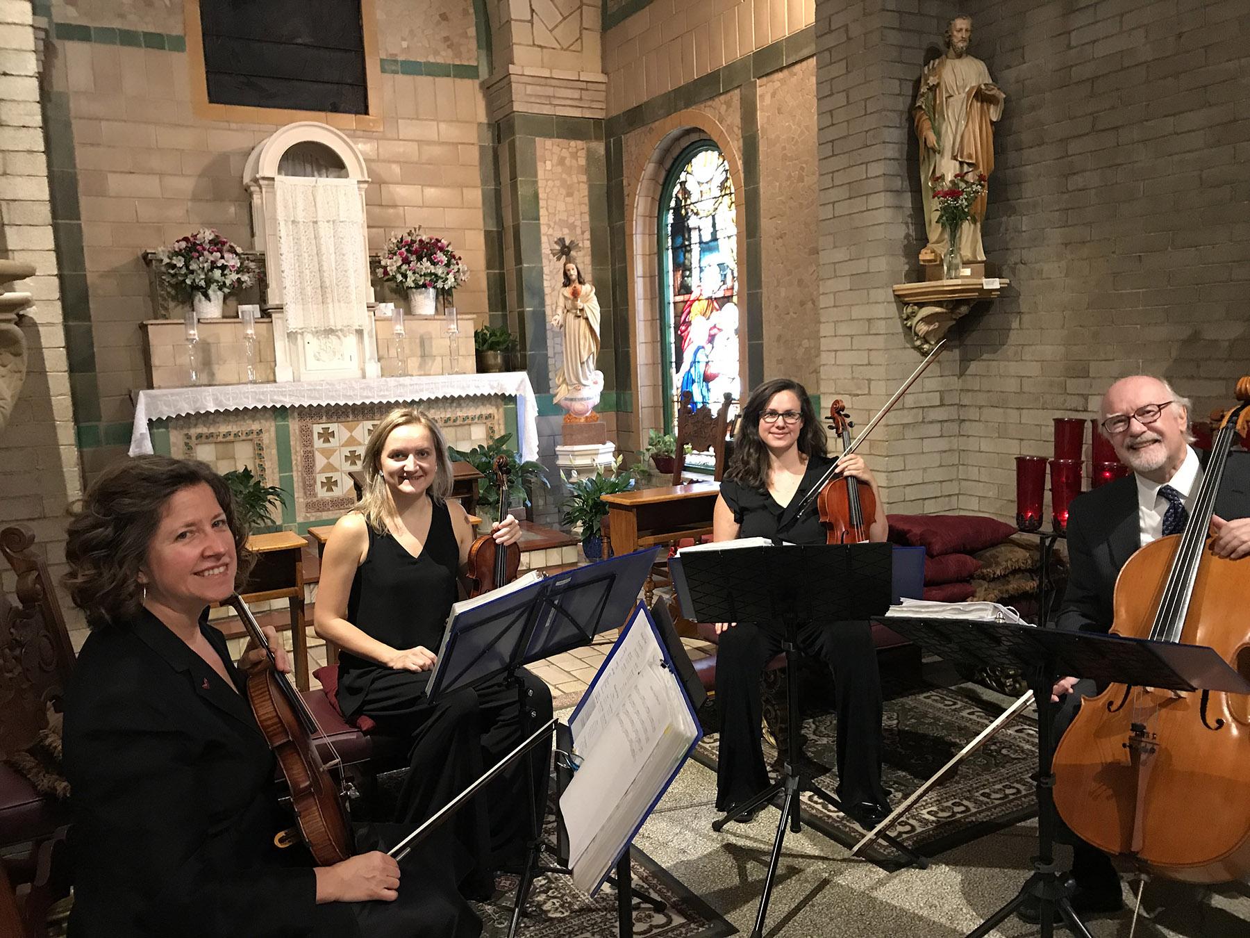 String Quartet Basilica Sept 1 2018